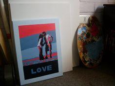 Pop Art - Love