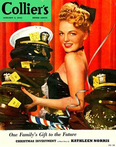 The January 2, 1943 cover of Collier's magazine.