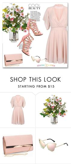"""Staying Summer 18"" by emina-turic ❤ liked on Polyvore featuring Nearly Natural and New Look"