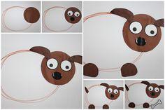 Motoriek - schrijfdans lichaam van de hond Crafts For Kids, Arts And Crafts, Animal Crafts, School, Bricolage, Animaux, Crafts For Children, Kids Arts And Crafts, Art And Craft