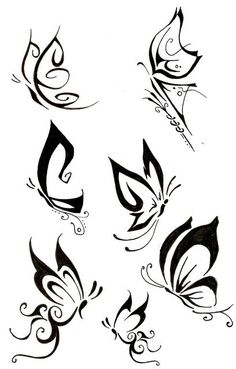 Tribal Butterfly Tattoos 94