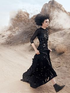"""before you kill us all: EDITORIAL Vogue US March 2014 """"American Gothic"""" Feat. Edie Campbell by David Sims"""