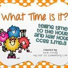 This 100 page telling time pack is full of activities to help your students practice telling time to the hour and half hour. The activities in this..$.