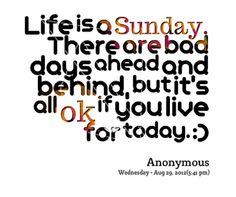 Life is Sunday