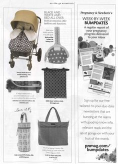 @pnmag Buyer's Guide for Fall 2014 features the Petunia Pickle Bottom Stroll!