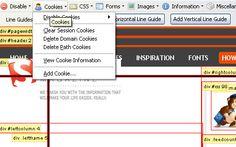 Web Developer - screen shot. 15 Helpful In-Browser Web Development Tools