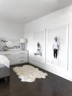 Ways To Embellish Your Kids Bedroom - home - Bedroom Home Bedroom, Kids Bedroom, Master Bedroom, Bedroom Decor, Bedroom Black, Trendy Bedroom, Bedroom Modern, Apartment Bedrooms, White Bedrooms