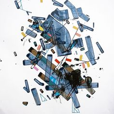 #abstract #abstractart #geographic #abstraction #acrylic #painting on #paper #artofinstagram #artofdrawingg #artoftheday #artofvisuals #instaart #art #gallery #artcollector #mental #architecture #mind #map #city #urban #artist #contemporary #studio