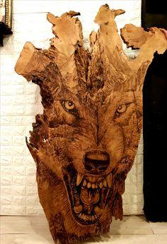 ღ Skuwandi – Woodworking 2020 Wood Carving Faces, Wood Carving Designs, Wood Carving Patterns, Wood Carving Art, Wood Patterns, Wood Burning Crafts, Wood Crafts, Whittling Wood, Creation Deco