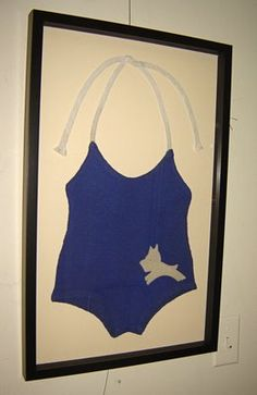 Vintage bathing suit......so cute for a beach house
