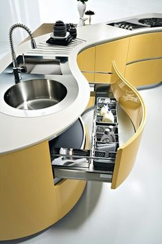 15 most outrageous outdoor kitchen sink station most outrageous outdoor kitchen sink station ideas ideas kuche most outdoor station Kitchen sink - modern and creative design ideas for your kitchen?modern sink models as kitchen Kitchen Room Design, Modern Kitchen Design, Home Decor Kitchen, Modern House Design, Interior Design Kitchen, Kitchen Ideas, Space Kitchen, Kitchen Layout, Modern Interior