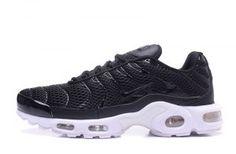 50ffe50c8d Mens Nike Air Max TN Ultra Plus Black White Casual Sneakers Air Max Plus Tn,