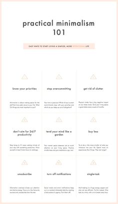 Practical minimalism 101: Easy ways to start living a simpler, more intentional life