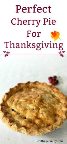 My favorite Cherry Pie recipe is perfect when we have company for dinner, as most friends do not make it for themselves even though it is a favorite. Healthy Pie Recipes, Cream Pie Recipes, Pie Crust Recipes, Easy Recipes, Delicious Fruit, Yummy Food, Yummy Treats, Sweet Treats, Fall Dessert Recipes