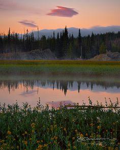 Sparks Lake near Bend, Oregon.