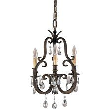 ABOVE SINK - Murray Feiss MF F2226/3 Crystal Three Light Chandelier from the Salon Maison Collection at Build.com.