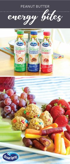 After the rush of back-to-school is over, it can be hard to make sure you're serving snacks to your kids that are nothing but the best. Well, that's before this after-school snack inspiration of course! By including things like the new Ocean Spray® Organic 100% Juices—Cranberry, Cranberry Blueberry, & Cranberry Apple—we think the meal prep ideas might just be coming back to you—especially because you can pick up everything you need from your local Kroger. Talk about easy!