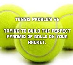 Anyone have this problem? We wish you a great and wonderful weekend. #tennis
