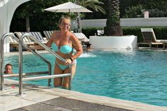 Swimwear special - Women of all ages wearing bikinis, swimsuits, cover ups…