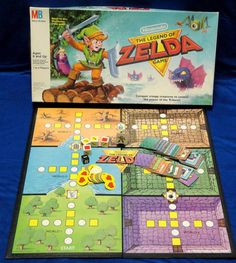 Legend of Zelda Board Game!! I have one at home, but never figured out the rules lol