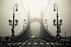 Foggy Day, Budapest, Hungary. Photo by arman