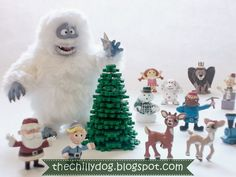 The Chilly Dog: Perler Beads: 3-D Christmas Tree
