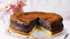 Chocolate mousse cak image