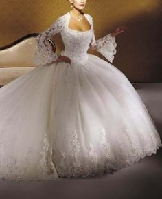 I love this! I want to get married again in this dress!
