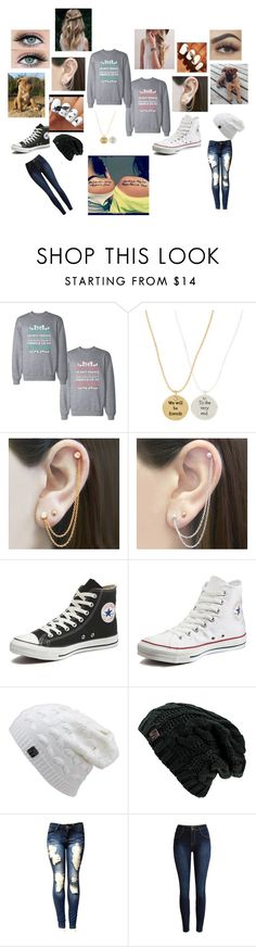 """""""Another Best Friend Outfit"""" by maggie-white ❤ liked on Polyvore featuring Accessorize, Embers Gemstone Jewellery, Otis Jaxon and Converse"""
