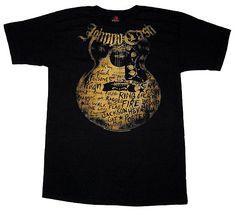 Johnny Cash Guitar Shirt