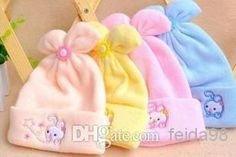 Wholesale Children Hat - Buy 2014 New Double Cashmere Baby Hat Baby Hat Cartoon Cap Embroidered Bonnet Newborn Fetal, $2.38 | DHgate