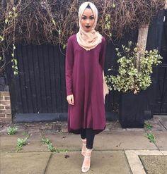 Spotlight On Sabina Hannan Midi Dress Outfit, Hijab Outfit, Dress Outfits, Midi Dresses, Muslim Fashion, Modest Fashion, Hijab Fashion, Sabina Hannan, Celebrity Style Dresses