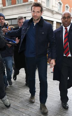 Bradley Cooper from The Big Picture: Today's Hot Pics  The Burnt actor heads to BBC Radio Studios in London.