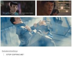 (I shall overlook the technical fact that Spock was directly quoting the original Sherlock Holmes.)