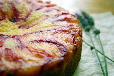 Belleau Kitchen: vanilla and lavender plum upside down cake
