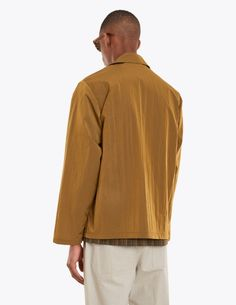 "Jacket from <a href=""http://tres-bien.com/tres-bien/"" class=""uniquelink"">Très Bien</a>. Spread collar. Front zip closure with textile pull tab. Kangaroo pocket on the front. Unlined. One inner pocket. Straight cuffs and hem."