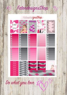 Planner Stickers for Happy Planner by FatendesignsShop on Etsy