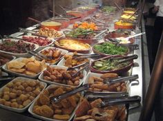 Lots of tasty Brazilian food! yummy!! :)