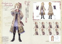 Mel Kishida, Atelier Rorona  Totori Art Book, Atelier Totori, Atelier Rorona, Cordelia Von Feuerbach  http://gallery.minitokyo.net/view/491501