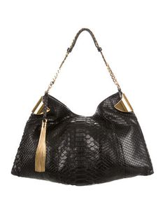 90d0e83660e4 1970 Python Hobo. The RealReal. Gucci Shoulder Bag ...