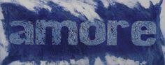 Amore Blu, carborundum, 140x80 cm