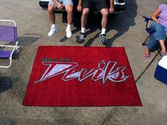 Mississippi Valley St MVSU Delta Devils 5x8 In/Out Door Ulti-Mat Tailgate Rug/Carpet