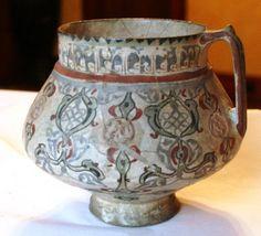 Handled vas (jug), Persia, 13th Century