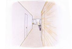 BFA | CW apartment #architecture #interior #design #contemporary #modern #mountains #colors #color #collage #pencils #watercolors #pantone