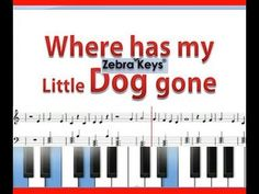 How to play Where Has My Little Dog Gone on piano Piano Songs For Beginners, Easy Piano Songs, Kids Songs, Keyboard Lessons, Sing Along Songs, Learning Tools, Learning Music, Fun Activities For Kids, Piano Lessons
