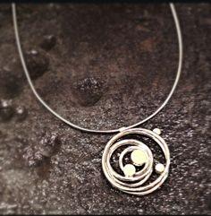 #elizabethgarvin necklace www.glassgrowersgallery.com
