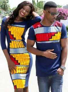 The most trendy and beautiful ankara styles and designs outfit for couples compilation. These ankara designs for couples were particularly selected for you and your partner. Ankara Dress Styles, African Print Dresses, African Fashion Dresses, African Dress, Ankara Tops, Ankara Fashion, Fashion Fashion, Kids Fashion, African Wedding Attire