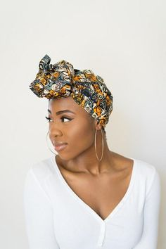African Masks Head Wrap | Thrifty Upenyu