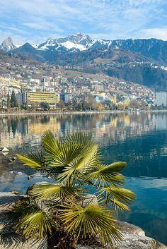 Lake Leman, Montreux, Switzerland