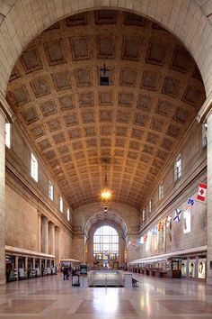 Union Station Toronto with access to Toronto Subway system
